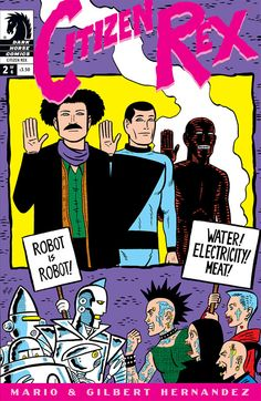 Citizen Rex # 2 | Dark Horse | catalog item 2510 | Bilderundworte