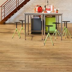 Quick-Step laminate flooring is the UK's leading brand of laminate flooring featuring a vast range of styles, décors and textures, which includes both wood and tile effect designs. Quick Step Flooring, Laminate Flooring, Wood Grain, Bar Stools, Perspective, Interiors, Traditional, Natural, Modern
