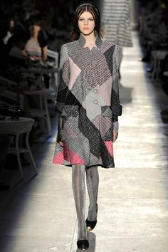 Patchwork Chanel couture 2013 fall/winter