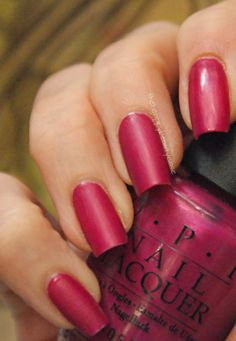 The Happy Beauty Case: [The Rainbow Ladies 2.0] Purple OPI Purple-opolis