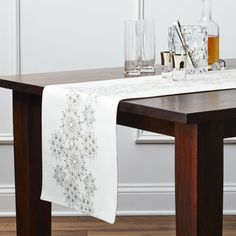 Free Shipping. Complete your table with table runners from Crate and Barrel. Browse a variety of styles including polyester, cotton and linen table runners.