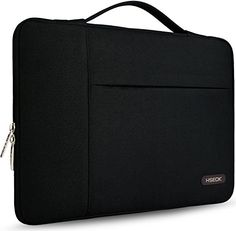 HSEOK Laptop Sleeve Multifunctional Protective Case Cover Bag for 12.9 iPad Pro / 13.3 Inch Laptop / Notebook Computer / MacBook Air / MacBook Pro Carrying Protector Briefcase Handbag, Black *** Read more  at the image link. Amazon Affiliate Program's Ads.