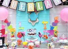 Julia's 4th Unbirthday Birthday - Alice in Wonderland Mad Tea Party