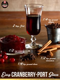 Cranberry Port Jam Recipe — Dishmaps