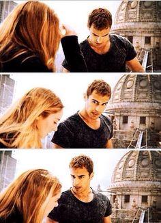 Tris and Four   Divergent