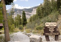 let's Put on your hiking boots and head on to Mary Jane falls Trailhead