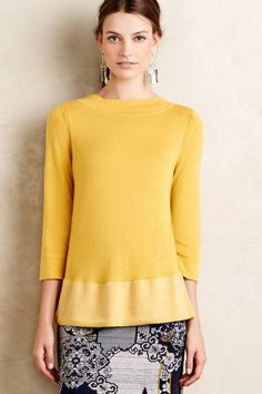 Anthropologie's August Arrivals: Fall Tops & Cardigans - Topista #anthrofave #anthropologie