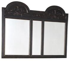 Wall Mirror AMBELLA HOME SARATOGA Reproduction Fretwork Double New AH-529