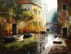 La obra del pintor ruso Gleb Goloubetski |