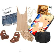 Lorraine Stanick Inspired, created by taylorjess91 on Polyvore