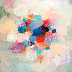 Sandy Dooley - A Few of My Favourite Colours, acrylic on canvas