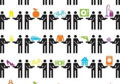 Collaborative consumption links