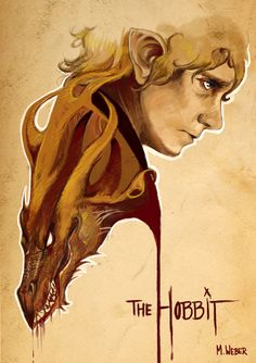 This is amazing for 2 reasons: 1. I love the art and the hobbit and 2. Benedict Cumberbatch is the voice of the dragon and Martian freeman plays bilbo baggins. This is like a hobbit version of Sherlock and I bet if they replaced the dragons face with sherlocks(Benedict) then it would make an awesome Sherlock poster. Just saying