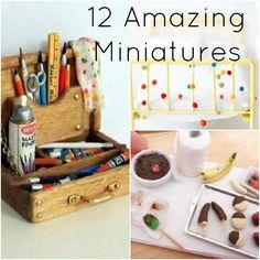 miniatures. I wish i knew how to do these miniatures!