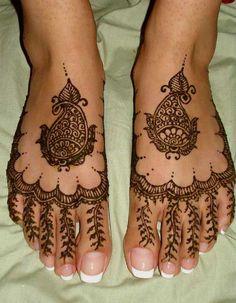 Black Mehndi Design 25 Fabulous Foot Mehndi Designs for Your Next Event
