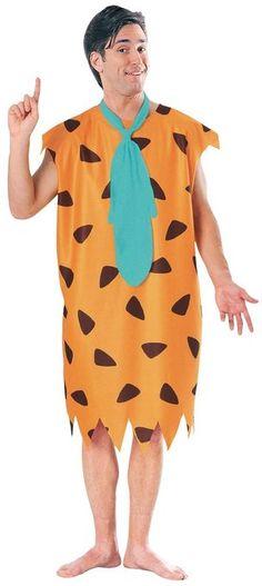 The Flintstones Fred Flintstone Costume, Brown, Standard
