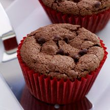Cinnamon Brownie Cupcakes  - Weight Watchers 6 points