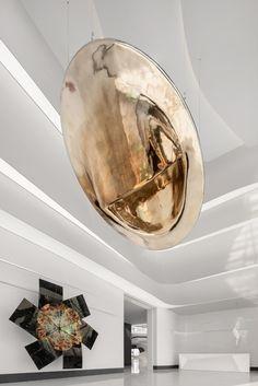 O Design, Hanging Art, Ceiling Design, Kids Furniture, Installation Art, Lighting Design, Sculptures, Carpet, Fine Art