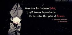 Black butler/quote