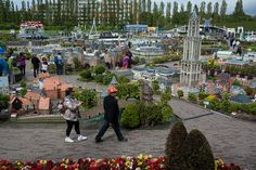 Madurodam park, The Netherlands. Miniature buildings and places in the Netherlands. Visited many years ago. Fun place!