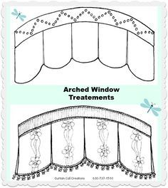 diy shirred sheer curtains for arched window - Google Search