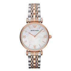 Emporio Armani Women Wrist Watch on YOOX. The best online selection of Wrist Watches Emporio Armani. YOOX exclusive items of Italian and international designers - Secure payments Stainless Steel Watch, Stainless Steel Bracelet, Armani White, Armani Watches, Estilo Retro, Metal Bracelets, Gold Watch, Watch 2, Online Shopping
