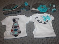 Coming Home Outfit, Twin Coming Home Outfit Boy and Girl coming home outfit  crochet loafers,crochet hat. newborn pics hospital pics photos