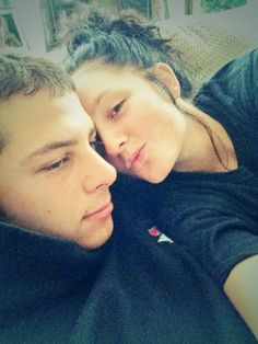 Cuddling with boo