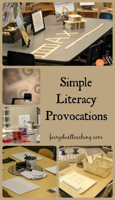 Simple Literacy Provocation l Fairy Dust Teaching