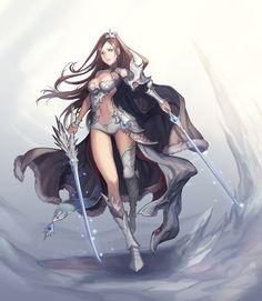 white sword master, Myungjin Kim on ArtStation at https://www.artstation.com/artwork/L8xev