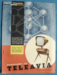 Teleavia P111 - 1957 - 1958 - Philippe Charboneau - Bertroni