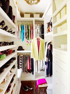 Inspirational Closet Organization