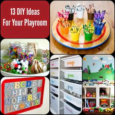 My Life of Travels and Adventures: 13 Awesome DIY Playroom Ideas