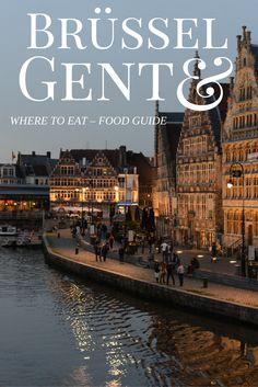 Food Guide für Brüssel und Gent // deutsch