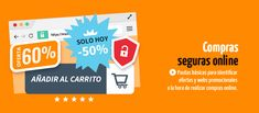 Compras seguras online Travel, Shopping, Safety, Social Networks, Viajes, Trips, Traveling, Tourism, Vacations