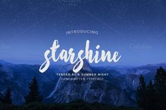 Starshine script by MediaLab on Creative Market