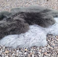 Add a shade of sheepskin grey/gray.....