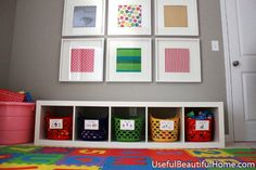 The IKEA Kallax collection Storage furniture is an essential part of any home. They offer obtain and assist you to keep track. Trendy and delightfully easy the rack Kallax from Ikea , for example. Ikea Kallax Shelving, Ikea Kallax Regal, Ikea Expedit, Ikea Toy Storage, Playroom Organization, Playroom Ideas, Organizing Toys, Organization Ideas, Plastic Basket With Handle