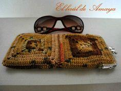 El baúl de Amaya: Fundas de gafas de ganchillo