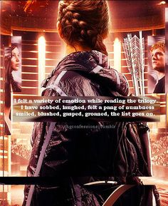 I never thought I would love a pre-teen novel trilogy as much as I loved the Hunger Games....