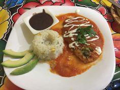 Chile relleno de queso El tule, Oaxaca Mx
