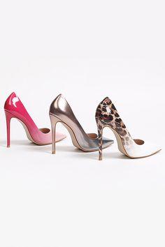 436e56fd47d4 Alice Pink High Heel Court Shoes By Carvela. Kurt Geiger ...