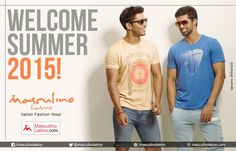 #Summer_explore‬!  Buy online from a wide range of Polos & t-shirts at masculinolatino.com