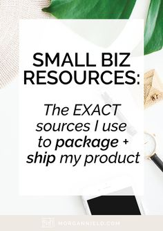 If you're completely overwhelmed when it comes to packaging + shipping your physical product on Etsy, never fear! Today I'm sharing allllllllll of my sources + tips for getting the most bang for your buck. Click through to learn what companies I recommend >>