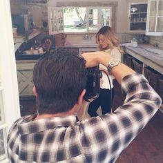 Miss Lauren Conrad on set for LC Lauren Conrad