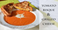 Tomato Bisque soup is the ultimate in comfort food.