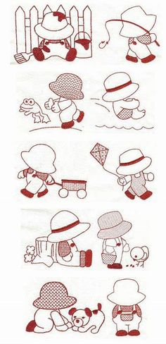 Image result for Free Sewing Sunbonnet Sue Pattern