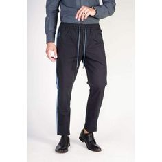 Dolce & Gabbana Men Trousers Black  ||  Men's clothing- Formally casual and sportingly sartorial, these are the free-time trousers, for the glamorous and sophisticated man- S/S Collection- men's jeans https://www.mymallmetro.com/products/dolce-gabbana-men-trousers-black-1?utm_campaign=crowdfire&utm_content=crowdfire&utm_medium=social&utm_source=pinterest