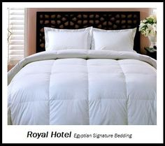 Royal Hotel's 1200 Thread Count Queen Size Siberian Goose Down Comforter — Maxwell's Daily Find 01.24.13