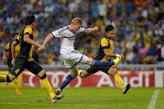 Kevin de Bruyne marcando un golazo contra Malasia XI.